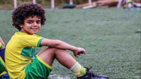 امیرعلی آریایی مهر،نوجوان فوتبالیست