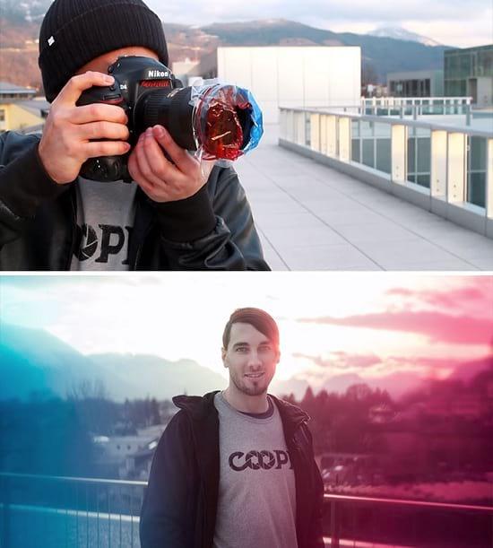 ترفندهای عکاسی ؛ فیلتر چندرنگ