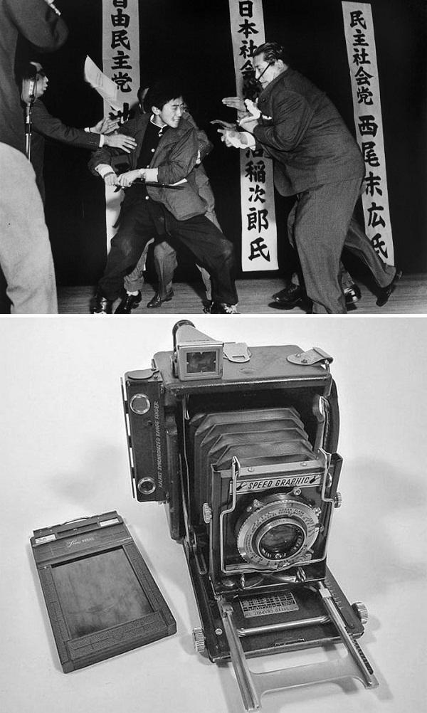 عکس های تاریخی / مناظرهای که تبدیل به ترور شد