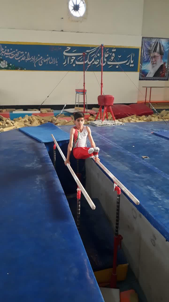 نوجوان ورزشکار