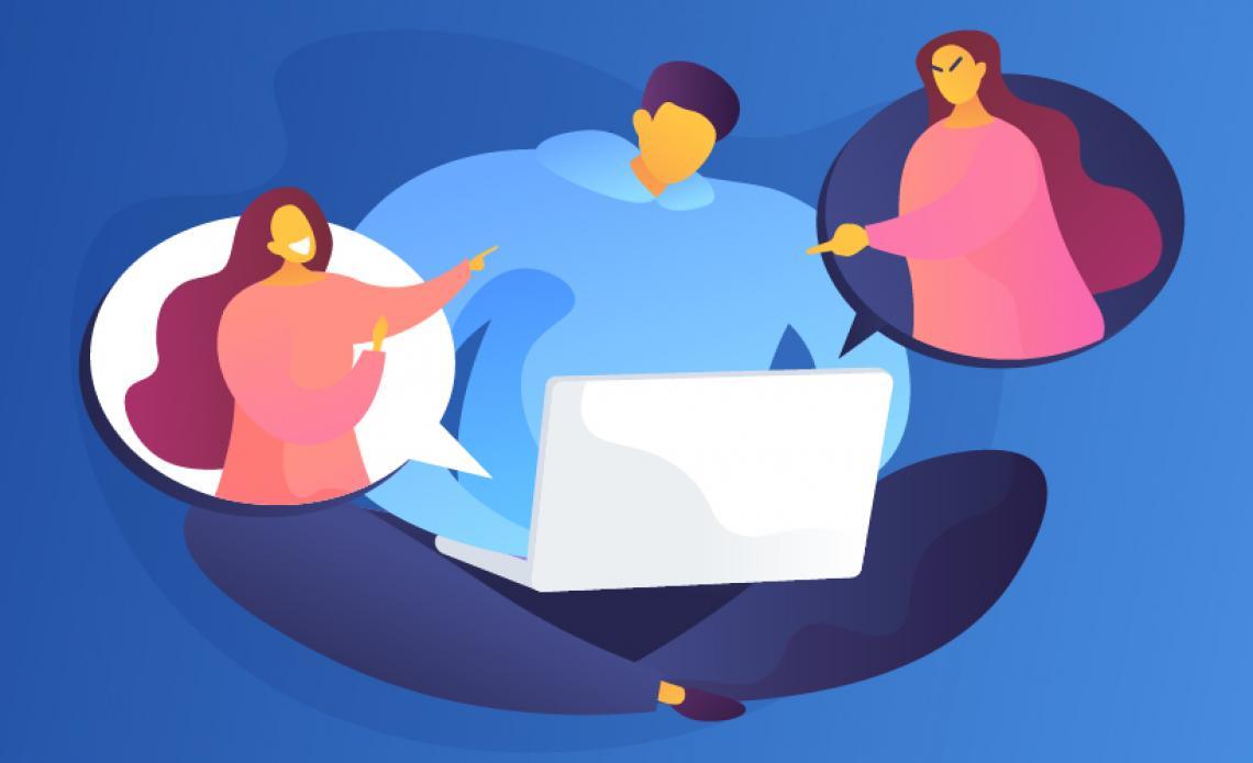 والدین و ازار اینترنتی